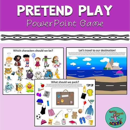 Pretend Play - PowerPoint Game