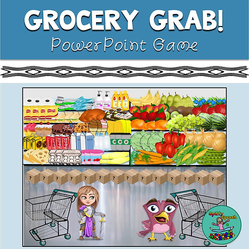 Grocery Grab - PowerPoint Game