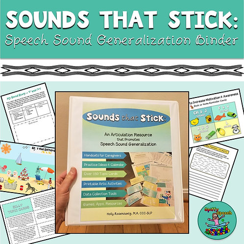 Sounds That Stick: Articulation Generalization