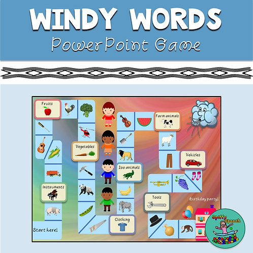 Windy Words - PowerPoint Game