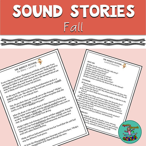 Fall Sound Stories