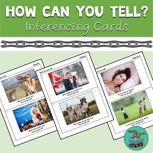 Photo Inferencing Cards: How Can You Tell?