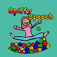 Spiffy Speech logo: fun, engaging resources for speech therapy and SLPs