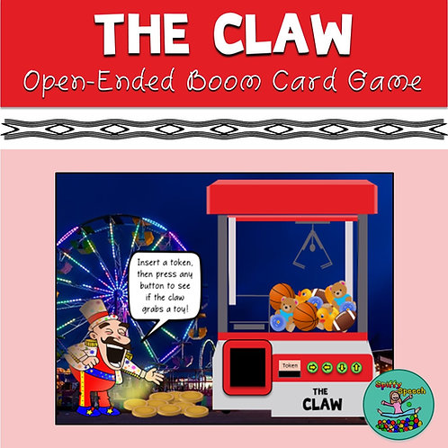 The Claw: Open-Ended Boom Card Game