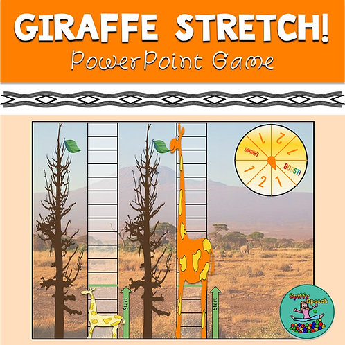 Giraffe Stretch - PowerPoint Game
