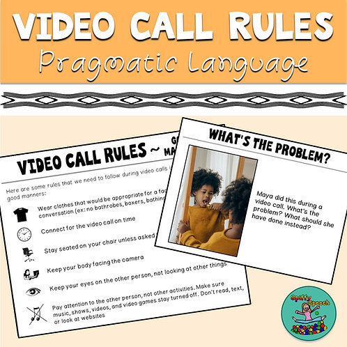 Video Call Rules