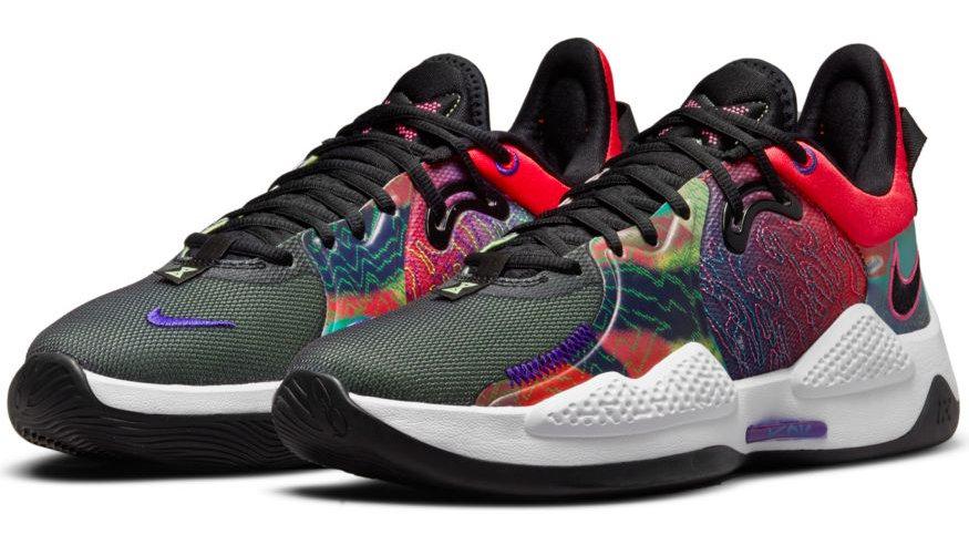 Nike - PG 5 (Bright Crimson/black)