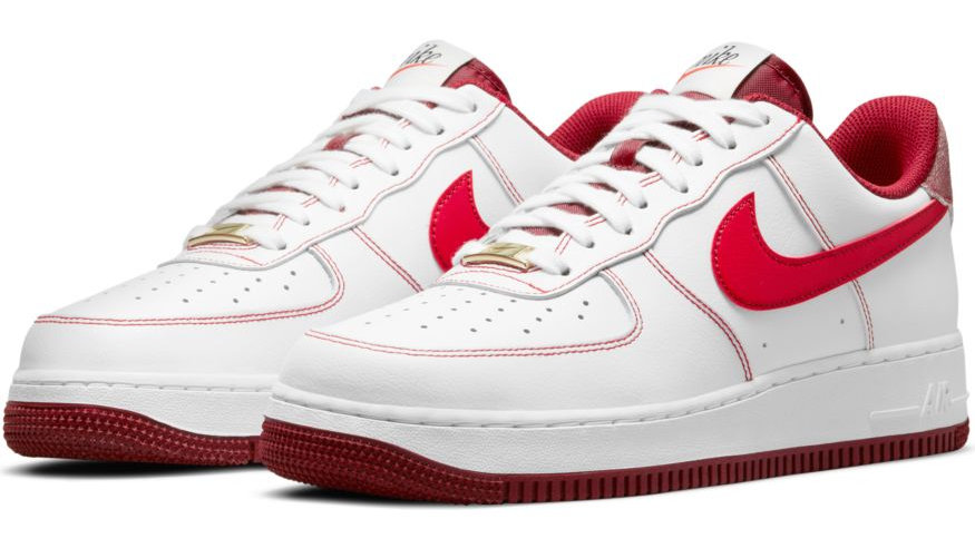 Nike - Air Force 1 '07 (White/University Red)