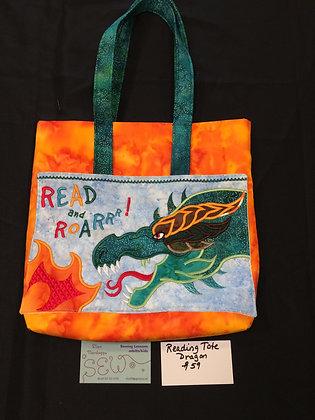 Reading Tote Dragon Bag