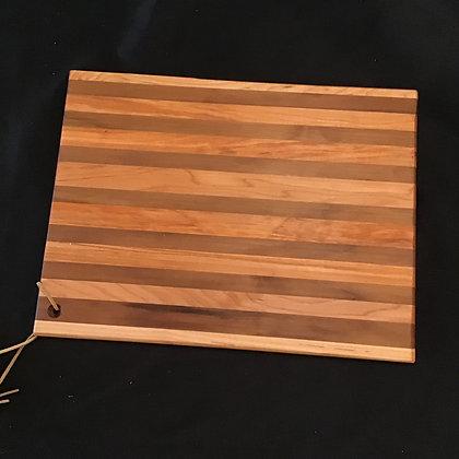 Cherry Maple Black Walnut Cutting Board 204