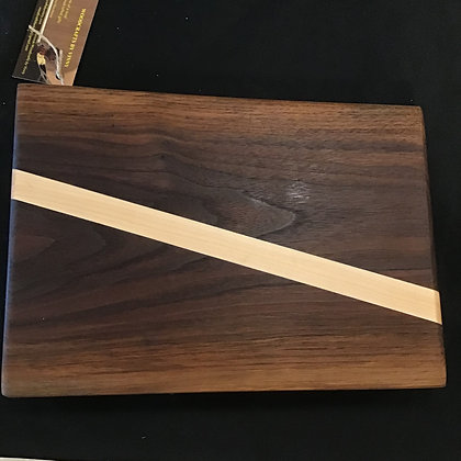 Black Walnut Maple Cutting Board with legs 207