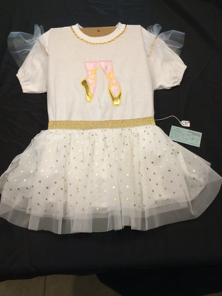 Small Ballerina 2 piece Outfit