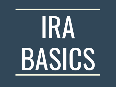 IRA Basics: Traditional & Roth