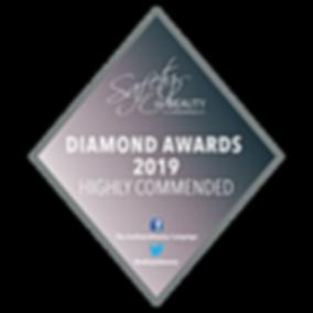 HIGHLY COMMENDED Diamond Award 2019 badg