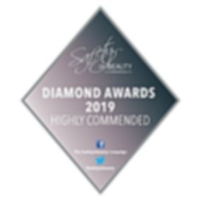 HIGHLY COMMENDED Diamond Award 2019 badg