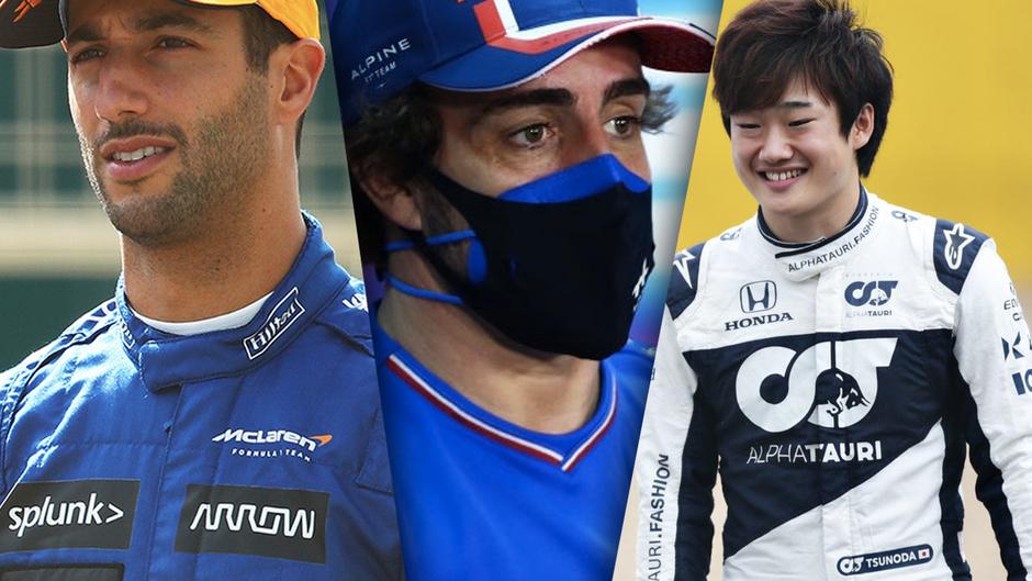 2021 F1 Driver Power Rankings Italian GP Edition: Ricciardo and Norris Surge, Verstappen drops down