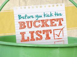 Before You Kick The Bucketlist