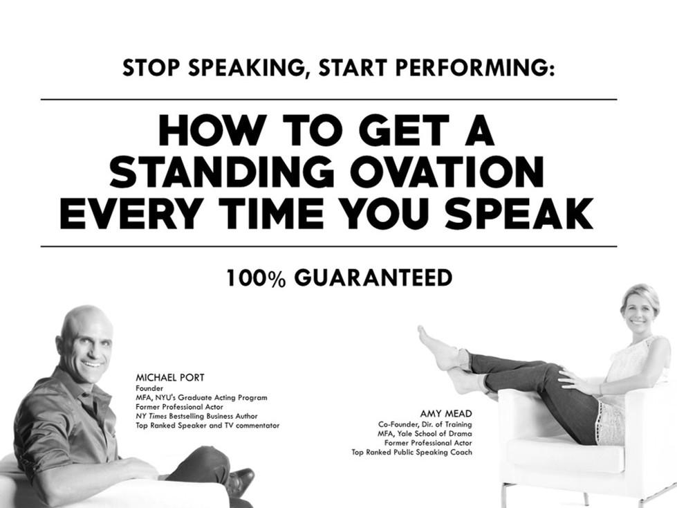 Heroic Public Speaking - Michael Port