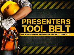 Presenters Tool Belt