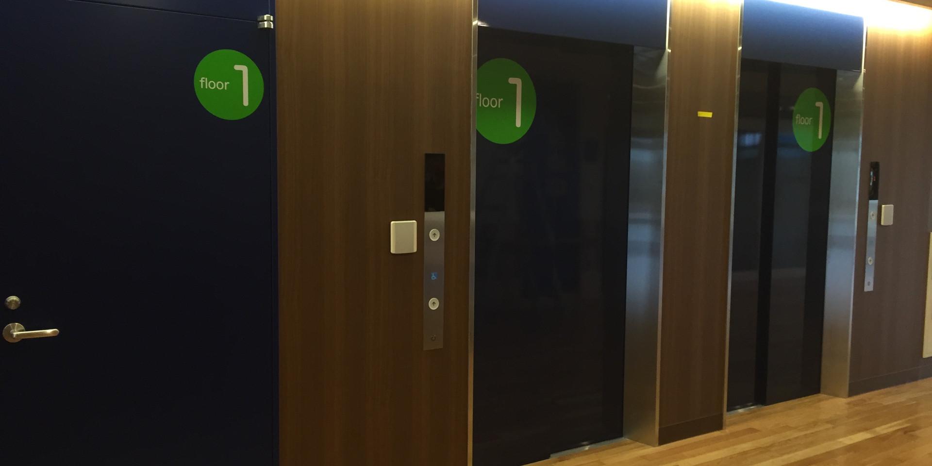 エレベーターサイン