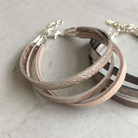 TessaMarieCox_Leather 3String Bracelet_C