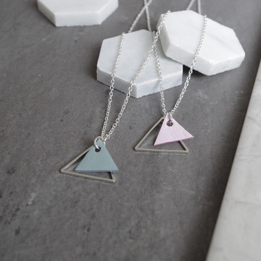 TessaMarieCox_Triangle Pendant Necklace_