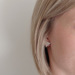 TessaMarieCox_Triangle Stud Earring_Smal