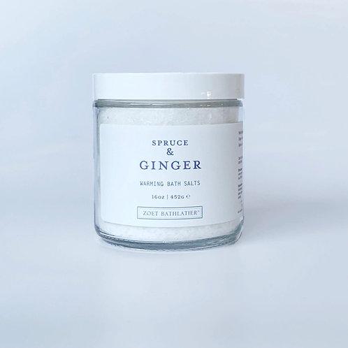 Spruce & Ginger Bath Salts