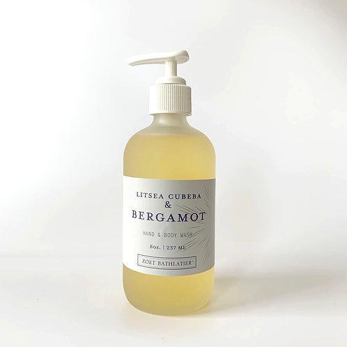 Litsea Cubeba & Bergamot  Hand & Body Wash