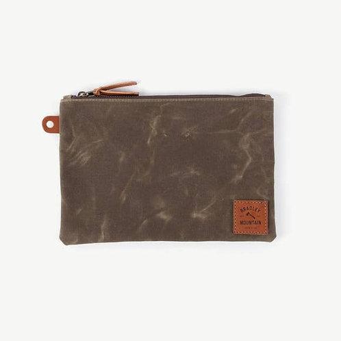 Folio Zip Pouch - Field Tan