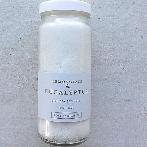 Lemongrass & Eucalyptus Bath Salts