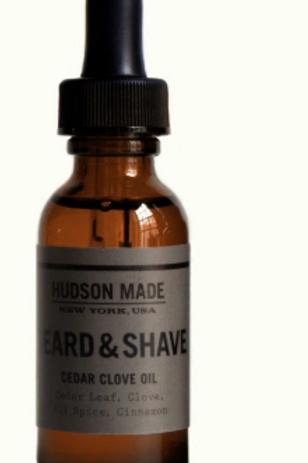 Hudson Made Cedar Clove Beard & Shave Oil
