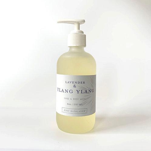 Lavender & YlangYlang Hand & Body Wash