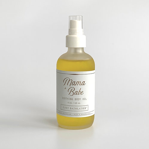 Mama + Babe Soothing Body Oil