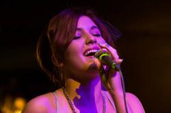 celeste singing pink light