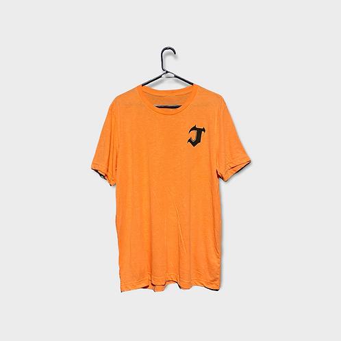 Jech T-Shirt - Pumpkin Orange and Green