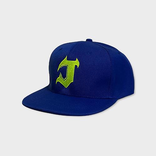 Flat Beak Jech Cap - Neon Green J