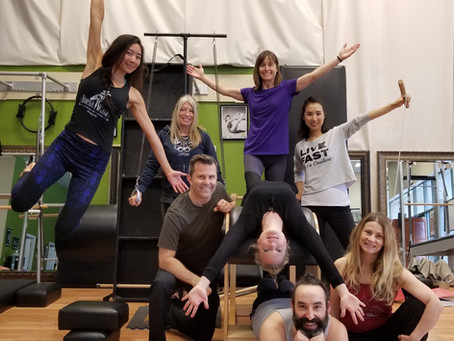 Pilates Systems Training weekend 3
