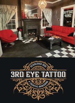 3rd Eye Tattoo