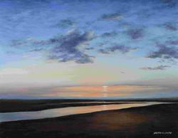 Smith_Sundown at Crosby Beach