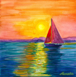 Boudreau_Sunset on the Bay