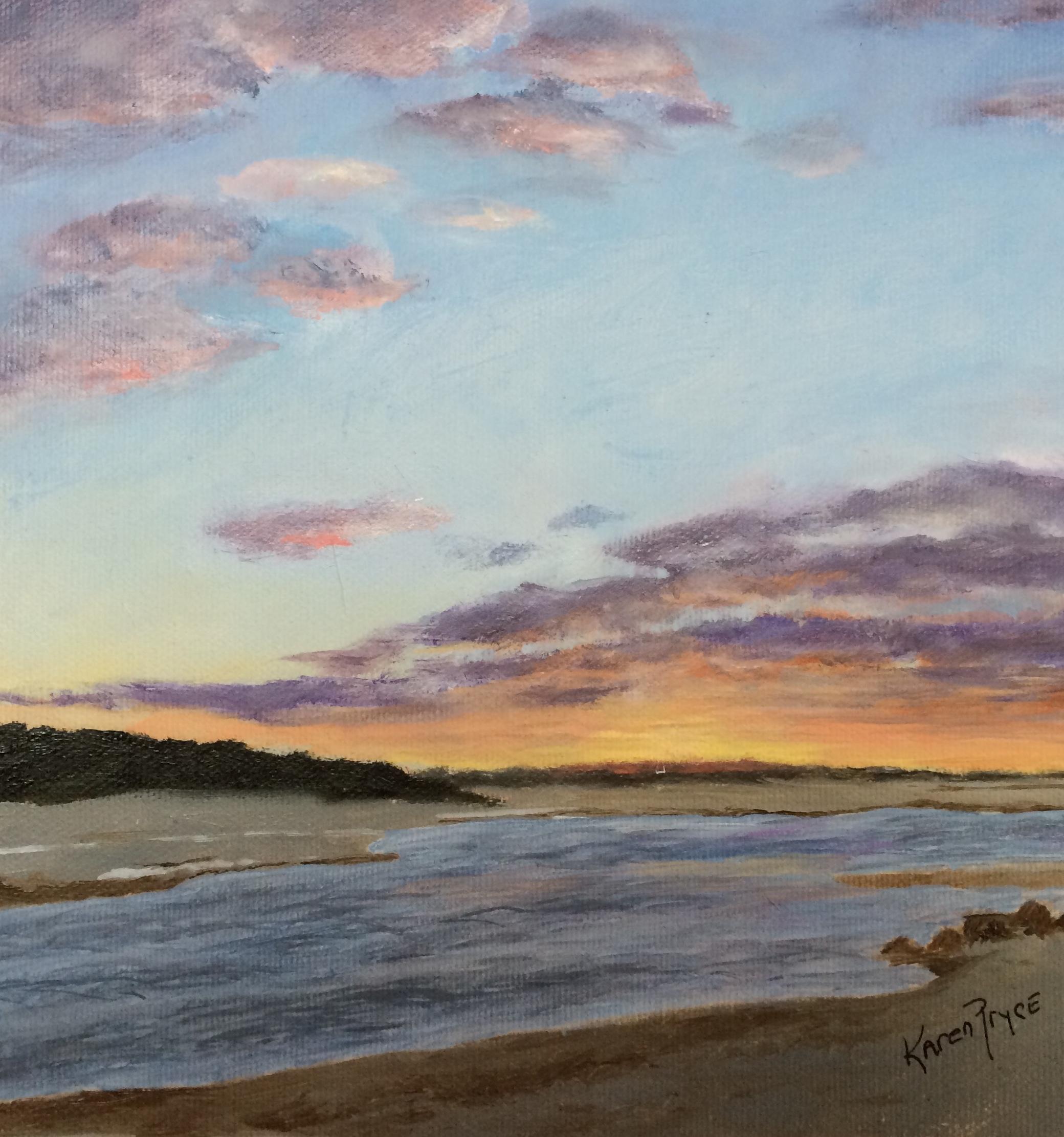 Paine's Creek Sunset_Pryce