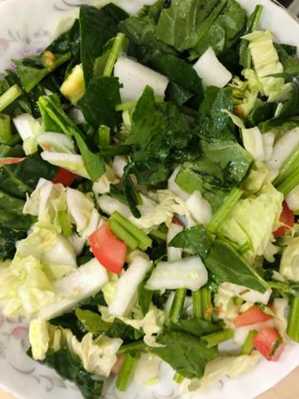Salad vegetables