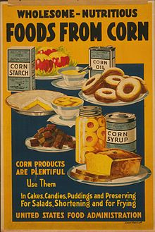 Old Ad for Nutritious Corn Syrup – donuts, pies, cakes!