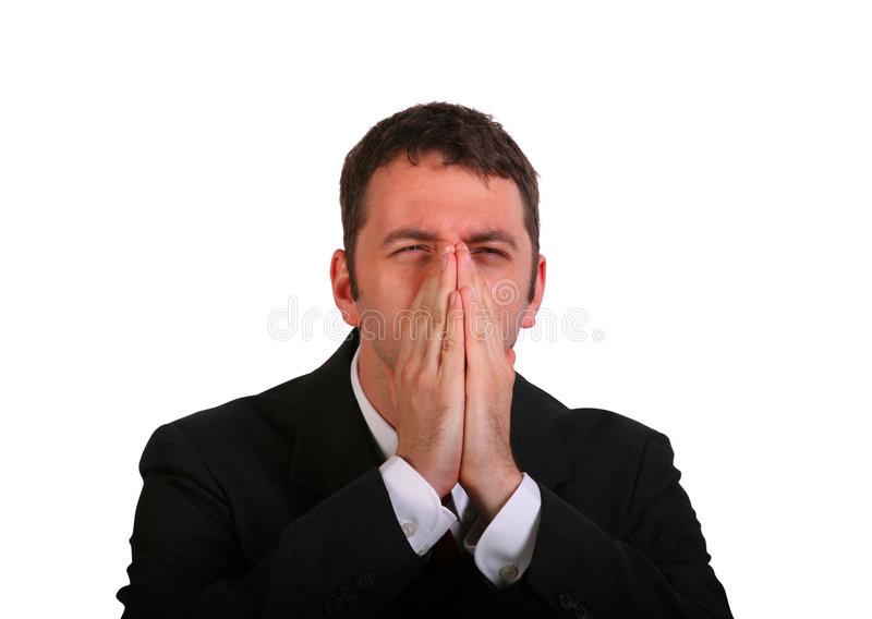 sneeze in hands