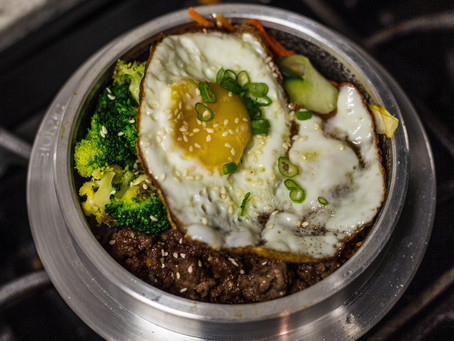 10-minute Lunch: Broccoli, Egg and Couscous Bowl