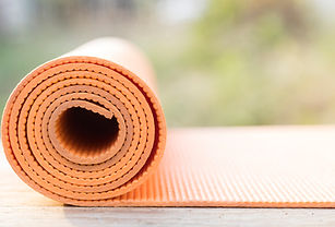 Pilates mat for private session