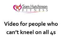 5 day beginner's video for non kneelers.