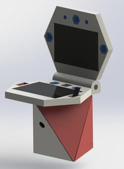 Modelo 3D - Plataforma de jogos