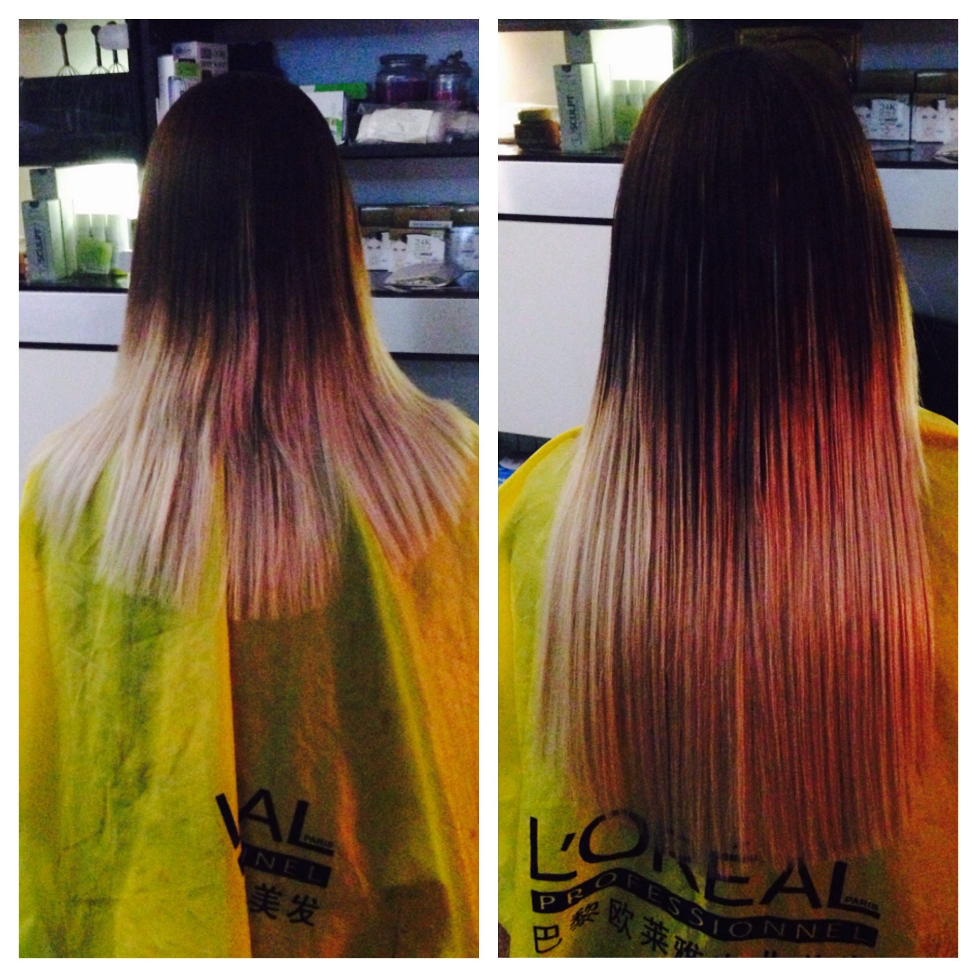 ombre Extensions Passion Salon by Jay